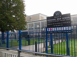Woodside High School, Wood Green Academy in Wood Green, London, England