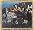 World War I; wounded sailors listening to musicians... Wellcome L0071941.jpg