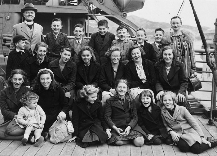 World War Two British evacuees to New Zealand