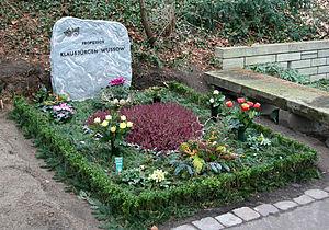 Klausjürgen Wussow - Wussow's grave in Berlin