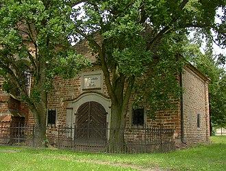 Hans Hermann von Katte - Mausoleum of the Katte family in Wust, Brandenburg