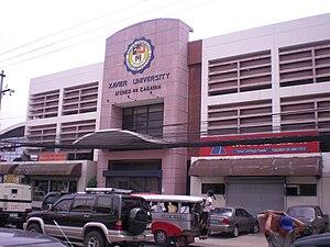 Xavier University – Ateneo de Cagayan - The university gymnasium in 2008.