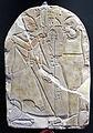 Xx dinastia, stele dedicata a ptah da nakhtemmut, da dei el medina, 1196-1070 ac ca.JPG