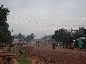 Yabelo - Main street of Yabelo
