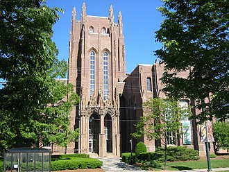 Peabody Museum of Natural History - The exterior of the Peabody Museum