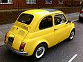 Yellow Fiat 500 'Topolino' - Flickr - yvescosentino (2).jpg