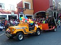 Yellow Jeep in Carnival of Tlaxcala.jpg