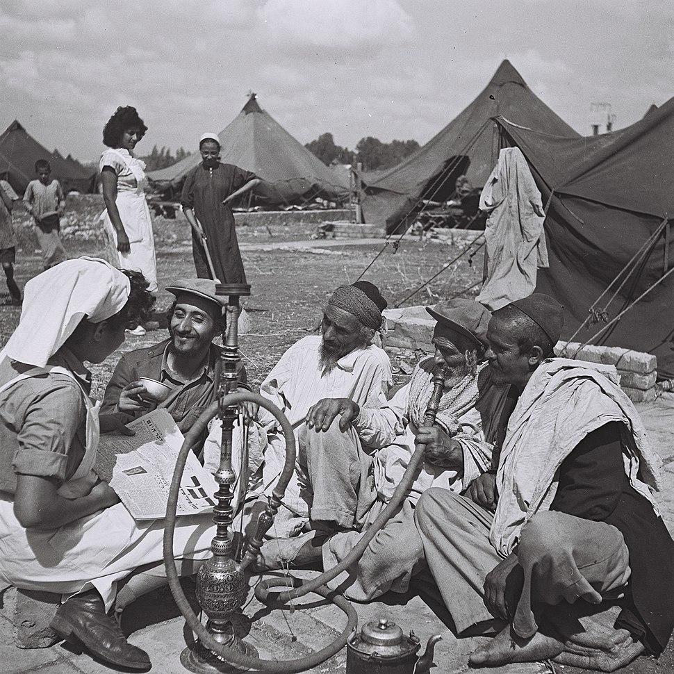 Yemenites at Rosh Haayin