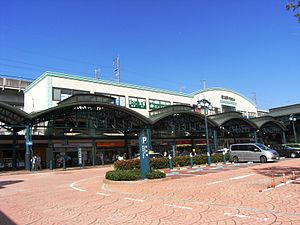 Yokogawa station south entrance.jpg