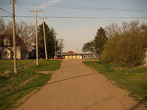 York, North Dakota - Street in York