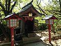Yorozu-Jizoson Shrine (No.4 of Okunomiya 8 Shrines) in Miyajidake Shrine.JPG