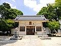 Yoshiike Hakken-sha shrine haiden, Shinden-cho Toyoake 2018.jpg