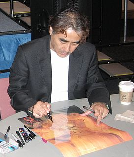 Yoshitaka Amano artist, character designer, and illustrator