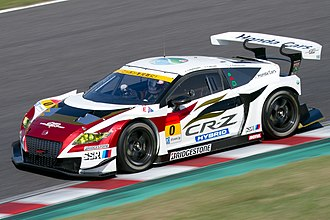 Mugen Motorsports - CR-Z. Super GT 2014 Rd.6 Suzuka 1000km: Yuhki Nakayama (Team Mugen)