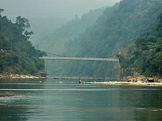 Jaflong - Piyain River, Jaflong, Sylhet