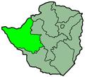 Zimbabwe Provinces Matabele North 250px.png