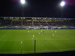 Zuiderpark Stadion - View from the north stands, towards the south stands, 2004.