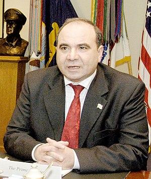 Zurab Zhvania - Image: Zurab Zhvania (April 28, 2004)