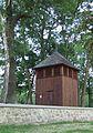 Zwola Poduchowna - dzwonnica obok kościoła św. Anny AL01.JPG