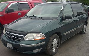 1999-2000 Ford Windstar photographed at the 20...