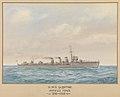'H.M.S. Sceptre, Harwich force, 1916-1919' RMG PU6336.jpg