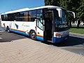 'Zalaegerszeg, vasútállomás (kisposta)' bus stop, Setra bus, 2020 Zalaegerszeg.jpg