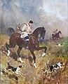 (Albi) Musée Toulouse-Lautrec - Cavalier de chasse à courre - René Princeteau 1892.jpg