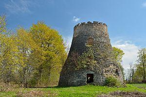 Ärina - Ärina windmill ruins