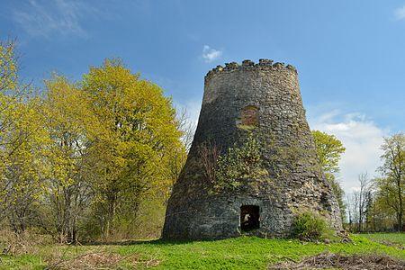 Ärina windmill ruins