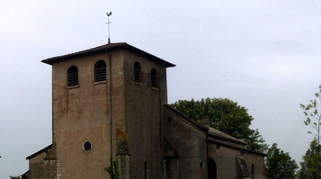 Église Saint-Marcel de Bouligneux.