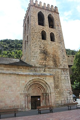 Image illustrative de l'article Église Saint-Jacques de Villefranche-de-Conflent
