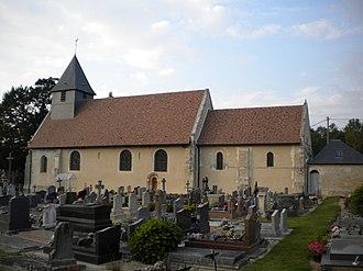 Auvillars - The Church of Saint Germain