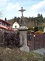 Čakovice u Řehenic, křížek u domu č. p. 29.jpg