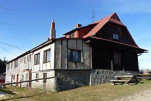 Czantoria Wielka - Image: Čantoryje, chata