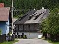 Čičmany (Csicsmány, Zimmermannshau) - old house 3.JPG