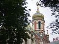 Łodź - widok na wieże cerkwi Św. Aleksandra Newskiego - panoramio.jpg