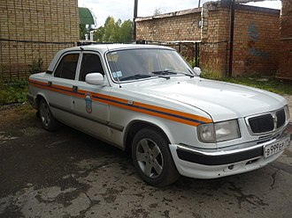 GAZ-3110 - EMERCOM post-2001 MY Volga