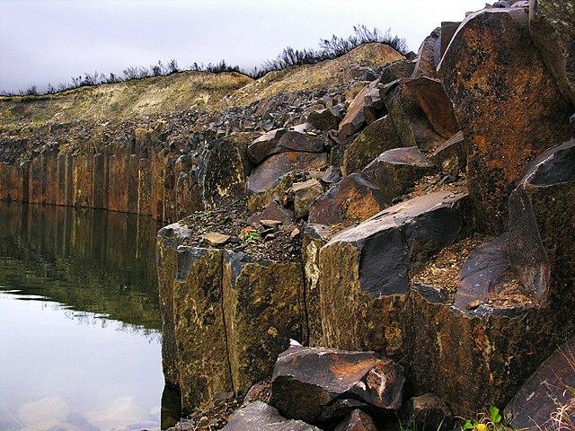 Базальтові стовпи, Костопільський район, © Ihor Zlobin, CC-BY-SA 3.0