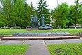 Братська могила мирних жителів (104 чоловіки) Новоодеський район Місто Нова Одеса.JPG