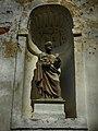 Дзятлава, касьцёл Унебаўзяцьця Найсьвяцейшай Панны Марыі, скульптура апостала Пятра.jpg