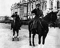 Маршал Советского Союза Л.А. Говоров принимает парад на Дворцовой площади в Ленинграде.jpg