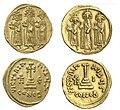 Монетный кризис 692 года византийские и арабские монеты.jpg