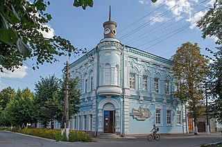 Town in Chernihiv Oblast, Ukraine