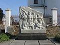 Пам'ятний знак про перше антифеодальне козацьке повстання під проводом гетьмана Криштофа Косинського в 1591 році.JPG