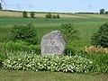 Памятный камень Piemiņas akmens Jēkabpils kaujas (1704) vietā - panoramio.jpg