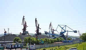 Posyet - Port of Posyet, June 2016