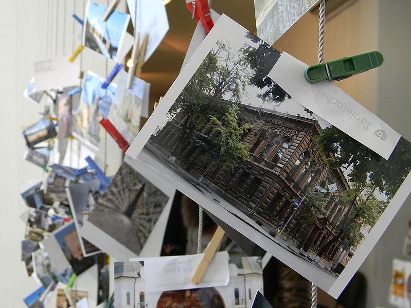 Фото Вікі любить пам'ятки з «Сушки на квадратах» у грудні 2013 року. Автор: Бабенко Наталія (ліцензія CC-BY-SA-3.0)