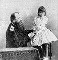 С.О. Макаров с дочерью.jpg
