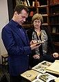 С директором Российской государственной библиотеки для молодёжи Ириной Михновой.jpg