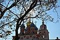Церковь Георгия на Псковской горе сквозь ветки.jpg